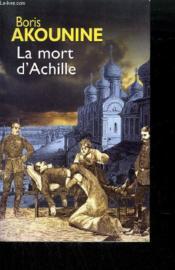 La mort d'Achille - Couverture - Format classique