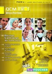 Biochimie ; UE 1 ; QCM - Couverture - Format classique