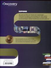Espions - 4ème de couverture - Format classique