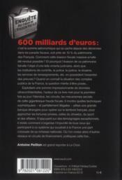 Ces 600 milliards qui manquent à la France ; enquête au coeur de l'évasion fiscale - 4ème de couverture - Format classique