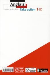 TAKE ACTION ; STI 2d, STL, STD 2 - 4ème de couverture - Format classique