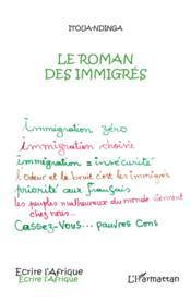 Le roman des immigrés - Couverture - Format classique