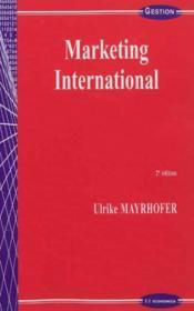 Marketing International, 2e Edition - Couverture - Format classique