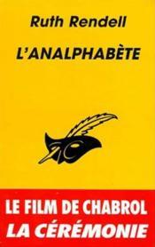 L'analphabète - Couverture - Format classique