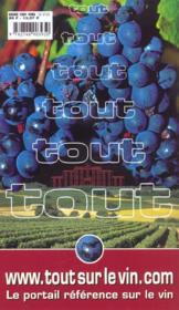 Les mille et un meilleurs vins a moins de huit euros 2002 - 4ème de couverture - Format classique