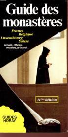 Guide Des Monasteres 1993 - Couverture - Format classique