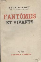 Fantomes Et Vivants. - Couverture - Format classique