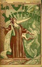 La Brasserie Arsene. La Vie Litteraire. - Couverture - Format classique