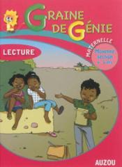 Graine de genie lecture maternelle moyenne section 4-5 ans - Couverture - Format classique