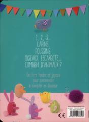 Mon petit livre à compter - 4ème de couverture - Format classique