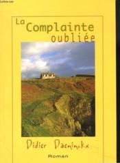 La Complainte Oubliee - Couverture - Format classique