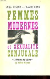 Femmes Modernes Et Sexualite Conjugale - Couverture - Format classique