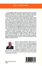 L'ONU et le conflit ivoirien ; les enjeux géopolitiques de l'intervention 2002-2010 - Couverture - Format classique