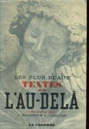 Les Plus Beaux Textes Sur L'Au-Dela - Couverture - Format classique