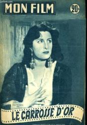 Mon Film N° 355 - Le Carosse D'Or - Couverture - Format classique