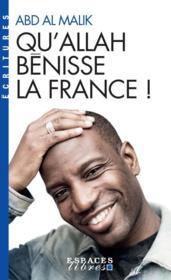 Qu'Allah bénisse la France ! - Couverture - Format classique
