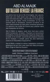 Qu'Allah bénisse la France ! - 4ème de couverture - Format classique