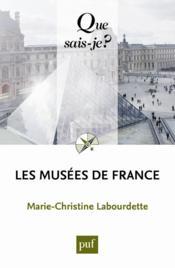Les musées de France - Couverture - Format classique