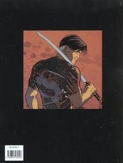 Bushido T.1 ; les derniers seigneurs - 4ème de couverture - Format classique