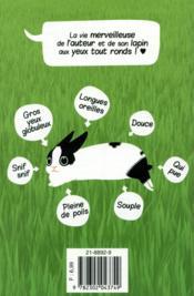 Globule ; une vie de lapin - 4ème de couverture - Format classique