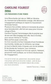 Inna - 4ème de couverture - Format classique