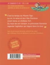 Les docs du CP t.4 ; les châteaux forts - 4ème de couverture - Format classique