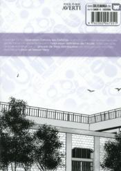 Prison school T.6 - 4ème de couverture - Format classique