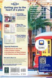 New Orleans (8e édition) - 4ème de couverture - Format classique