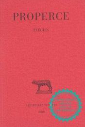 Elegies - Intérieur - Format classique