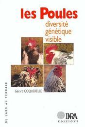 Les poules ; diversité génétique visible - Intérieur - Format classique