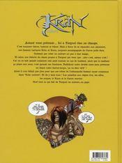 Krän univers t.2 - 4ème de couverture - Format classique