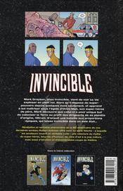 Invincible T.3 ; la relève - 4ème de couverture - Format classique