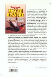 Pratique De La Magie Blanche - 4ème de couverture - Format classique