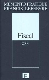 Fiscal 2001 ; nouvelle edition - Intérieur - Format classique