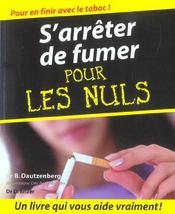 S'arreter de fumer pour les nuls - Intérieur - Format classique