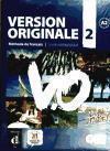 Version originale 2 ; FLE ; méthode de français ; guide pédagogique (édition 2010) - Couverture - Format classique