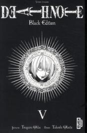 Death note - black edition T.5 - Couverture - Format classique