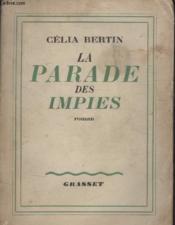 La Parade Des Impies. - Couverture - Format classique
