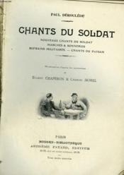 Chants Du Soldat. Collection Modern Bibliotheque. - Couverture - Format classique