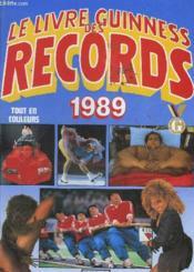 Guiness Des Records 1989 - Couverture - Format classique