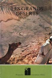 Les Grands Deserts. - Couverture - Format classique