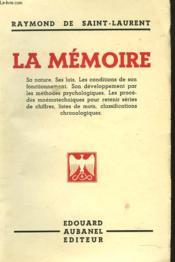 La Memoire - Couverture - Format classique