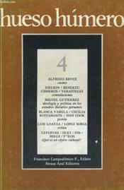 Hueso Humero, N° 4, Enero-Marzo 1980 - Couverture - Format classique