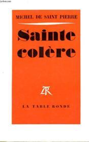 Sainte Colere - Couverture - Format classique