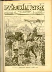 LA CROIX ILLUSTREE N° 102 - Troisième année - Les débardeurs déchargeant le charbon sur les quais, à Paris (dessin de Tempestini, gravure de Navellier-Marie). - Couverture - Format classique