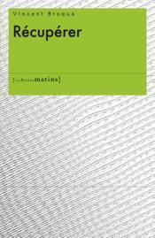 Récupérer - Couverture - Format classique