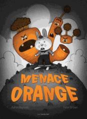 Menace orange - Couverture - Format classique
