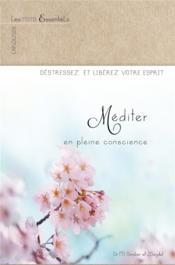 Méditer en pleine conscience - Couverture - Format classique