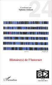 Histoires de l'internet - Couverture - Format classique
