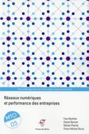 Réseaux numériques et performance des entreprises ; management des technologies organisationnelles t.5 - Couverture - Format classique